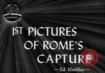 Image of Allied troops liberate Rome Rome Italy, 1944, second 1 stock footage video 65675076589