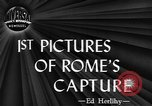 Image of Allied troops liberate Rome Rome Italy, 1944, second 2 stock footage video 65675076589