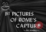 Image of Allied troops liberate Rome Rome Italy, 1944, second 3 stock footage video 65675076589