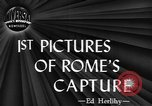 Image of Allied troops liberate Rome Rome Italy, 1944, second 5 stock footage video 65675076589
