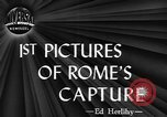 Image of Allied troops liberate Rome Rome Italy, 1944, second 6 stock footage video 65675076589