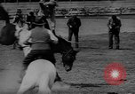 Image of rodeo Sydney Australia, 1944, second 8 stock footage video 65675076593