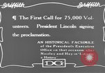 Image of Abraham Lincoln United States USA, 1916, second 3 stock footage video 65675076595
