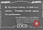 Image of Abraham Lincoln United States USA, 1916, second 4 stock footage video 65675076595