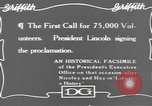 Image of Abraham Lincoln United States USA, 1916, second 5 stock footage video 65675076595