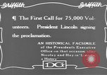 Image of Abraham Lincoln United States USA, 1916, second 10 stock footage video 65675076595