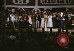 Image of Grand Ole Opry House Nashville Tennessee USA, 1974, second 8 stock footage video 65675076607