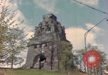 Image of Monument to the Battle of the Nations Leipzig Germany, 1945, second 9 stock footage video 65675076619