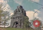 Image of Monument to the Battle of the Nations Leipzig Germany, 1945, second 10 stock footage video 65675076619
