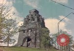 Image of Monument to the Battle of the Nations Leipzig Germany, 1945, second 11 stock footage video 65675076619