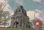 Image of Monument to the Battle of the Nations Leipzig Germany, 1945, second 12 stock footage video 65675076619