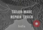 Image of tug truck India, 1943, second 4 stock footage video 65675076653