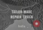 Image of tug truck India, 1943, second 6 stock footage video 65675076653