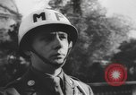 Image of United States Military Police Paris France, 1944, second 9 stock footage video 65675076659