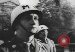 Image of United States Military Police Paris France, 1944, second 10 stock footage video 65675076659