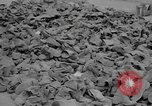 Image of shoe reclamation activities World War 2 European Theater, 1945, second 10 stock footage video 65675076667