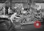 Image of Army artillery being repaired and reconditioned in a factory United States USA, 1945, second 7 stock footage video 65675076676