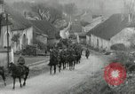 Image of AEF artillerymen moving through a French Village France, 1918, second 3 stock footage video 65675076714