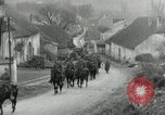 Image of AEF artillerymen moving through a French Village France, 1918, second 4 stock footage video 65675076714
