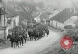 Image of AEF artillerymen moving through a French Village France, 1918, second 8 stock footage video 65675076714