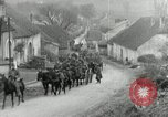 Image of AEF artillerymen moving through a French Village France, 1918, second 11 stock footage video 65675076714