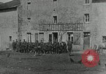 Image of AEF soldiers behind the lines France, 1918, second 8 stock footage video 65675076718