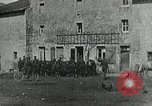 Image of AEF soldiers behind the lines France, 1918, second 9 stock footage video 65675076718