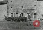 Image of AEF soldiers behind the lines France, 1918, second 12 stock footage video 65675076718