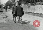 Image of US soldier teaches Asian man close order drill France, 1918, second 7 stock footage video 65675076719