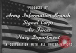 Image of United States soldiers United States USA, 1944, second 12 stock footage video 65675076735