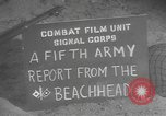 Image of United States troops Italy, 1944, second 6 stock footage video 65675076746