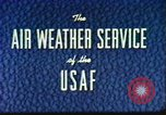Image of weather forecasting United States USA, 1960, second 8 stock footage video 65675076761