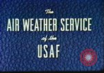 Image of weather forecasting United States USA, 1960, second 9 stock footage video 65675076761