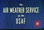 Image of weather forecasting United States USA, 1960, second 10 stock footage video 65675076761