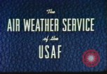 Image of weather forecasting United States USA, 1960, second 11 stock footage video 65675076761
