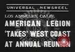 Image of American Legion Los Angeles California USA, 1938, second 5 stock footage video 65675076797