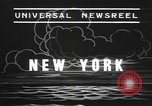 Image of rain storm New York United States USA, 1938, second 2 stock footage video 65675076799