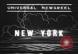 Image of rain storm New York United States USA, 1938, second 3 stock footage video 65675076799
