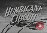 Image of hurricane warning service Miami Florida USA, 1947, second 9 stock footage video 65675076805