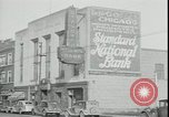 Image of bank failure during Great Depression Chicago Illinois USA, 1934, second 9 stock footage video 65675076826