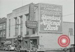 Image of bank failure during Great Depression Chicago Illinois USA, 1934, second 10 stock footage video 65675076826