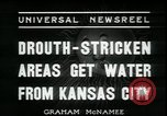 Image of water for drought relief Louisburg Kansas USA, 1936, second 4 stock footage video 65675076829
