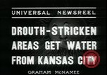 Image of water for drought relief Louisburg Kansas USA, 1936, second 7 stock footage video 65675076829