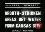 Image of water for drought relief Louisburg Kansas USA, 1936, second 8 stock footage video 65675076829