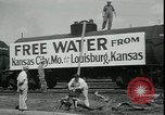 Image of water for drought relief Louisburg Kansas USA, 1936, second 9 stock footage video 65675076829