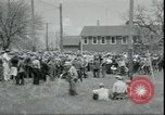 Image of Dairy farmers protest prices and dump milk Mukwonago Wisconsin USA, 1933, second 8 stock footage video 65675076834