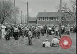 Image of Dairy farmers protest prices and dump milk Mukwonago Wisconsin USA, 1933, second 9 stock footage video 65675076834