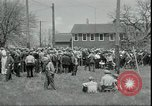 Image of Dairy farmers protest prices and dump milk Mukwonago Wisconsin USA, 1933, second 10 stock footage video 65675076834