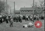 Image of Dairy farmers protest prices and dump milk Mukwonago Wisconsin USA, 1933, second 11 stock footage video 65675076834