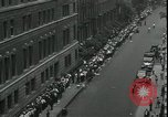 Image of unemployed men seek WPA relief jobs New York City USA, 1935, second 9 stock footage video 65675076839